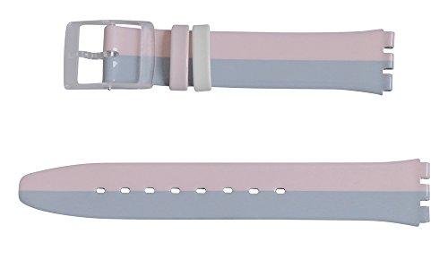 Original Swatch Skin Armband FOND DE TEINT (ASFK398) 16 mm Bandansatz