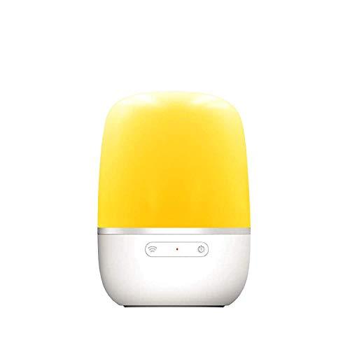 meross Lampe de Chevet Intelligente, LED Lampe de Table Connectée WiFi Compatible avec Amazon Alexa, Google Home et IFTTT, Veilleuse avec 16 Millions de Couleurs Réglables et Chargement USB
