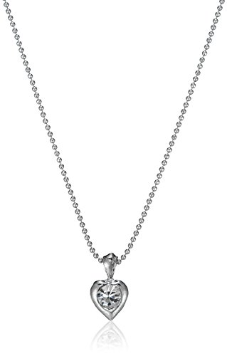 Ava Heart Pendant with Chain for Women (Silver) (P-O-NL2004)  available at amazon for Rs.129