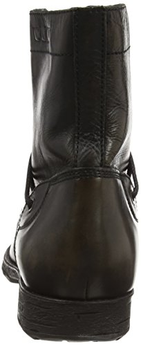 Cult Underground M Mid 244 Leather, Bottes homme Noir (Black)
