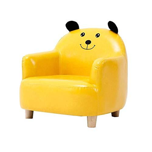 DSHUJC Stuhl Kinder Sofa Sessel Kinderstuhl Karikatur-Kinder Kleines Sofa Seat (Farbe: gelb)