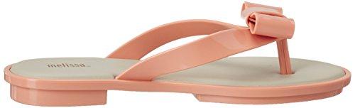 Melissa Melissa Gueixa Flat, Sandales Compensées femme Pink (Pink/Beige)