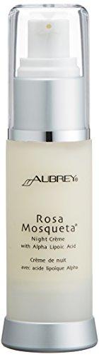 Aubrey Organics Rosa Mosqueta Night Creme with Alpha Lipoic Acid, 1-Ounce Bottle (japan import)