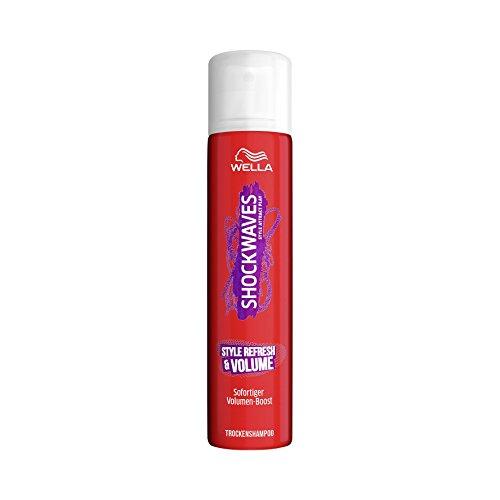 Wella Shockwaves Style Refresh & Volume Trockenshampoo Mini Größe, 6er Pack (6 x 65 ml)