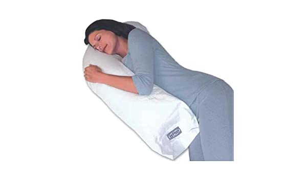 Snoozer Junior Body Pillow in White