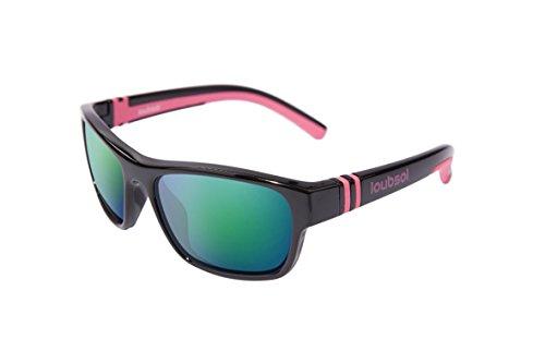 Loubsol Bao Sonnenbrille Kinder Mädchen, schwarz, 6–10Jahre