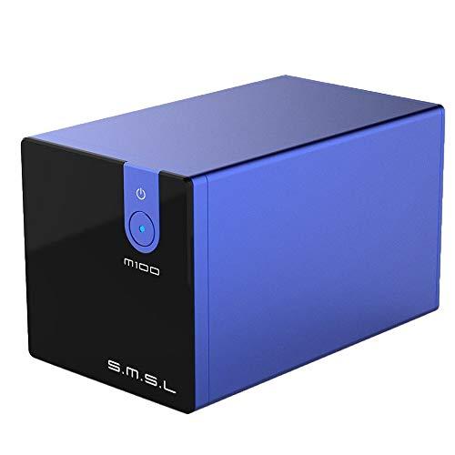 CHOULI SMSL M100 Analog Digital Wandler 32Bit / 768kHz USB/Koaxial HiFi DAC Decoder blau