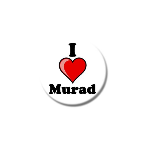 "315hVwcCySL - NO.1 BEAUTY# Set of Three I Love Murad Fridge Magnets - Choice Of Sizes - 25mm & 38mm - 25mm (1"") Reviews  Best Buy price"