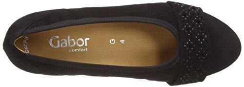 Gabor - Chaussures À Talons, Donna Black Suede