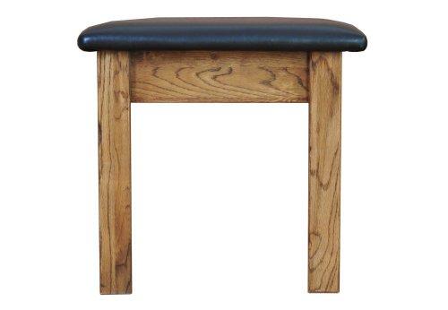 Morriswood Rustic Oak Range Dressing Table Stool