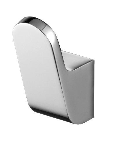 Bisk 02992 futura gancio singolare, 2.5 x 4 x 6 cm, argento