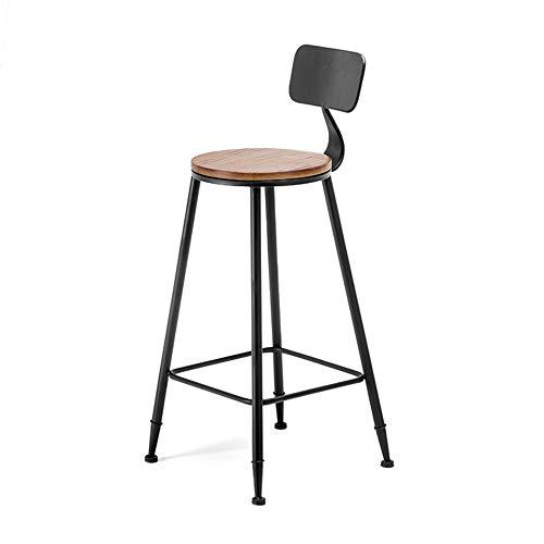 L.BAN Barstühle Tresenhocker Metall Küchenstühle Mehrzweck Kneipentheke Weinlese rustikal & Moderner Stil