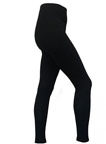 Michaelax-Fashion-Trade - Pantalon de sport - Uni - Femme Schwarz (090)
