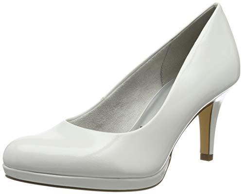 Tamaris 1-1-22444-23, Escarpins Femme, Blanc (White...