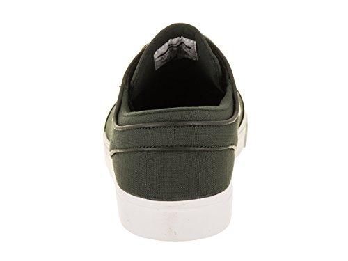 Nike Zoom Stefan Janoski Cnvs 615957-304, Baskets Mixte Adulte Multicolore (Sequoia/light Bone/summit White/medium Olive/elemental Pink 615957-304)