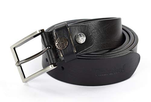 Timberland Herren Gürtel schwarz Schwarz 125 (Timberland Gürtel Aus Leder Für Männer)