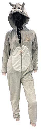 Disney Thumper Donna all in One Pigiama Abito da Notte Costume Tuta, Small