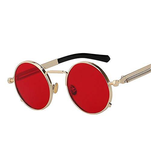 ANSKT Unisex-Sonnenbrille polarisiert - schwarz_w_sea_rot