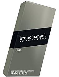 bruno banani Man, Eau de Toilette Natural Spray, Herb-aromatisches Herren Parfüm, 1 er Pack (1 x 75ml)