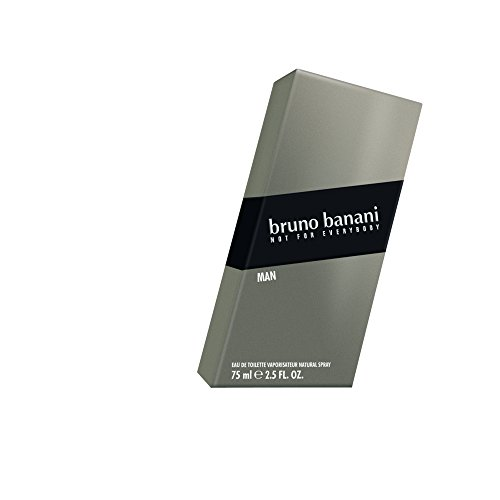 bruno banani Man, Eau de Toilette Natural Spray, Herb-aromatisches Herren Parfüm, 1 er Pack (1 x 75ml)