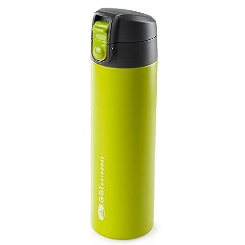 GSI Outdoors Microlite 500 Isolierkanne Edelstahl grün 500