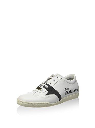 john-galliano-zapatillas-blanco-antracita-eu-43