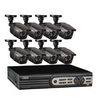 Q-See QT5616-8E2-2 16-Channel Real-Time 960H DVR and 8 960H/700 TVL