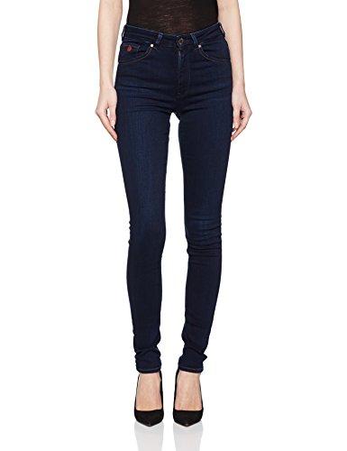 Scotch & Soda Maison Damen Slim Jeans (Schmales Bein) Haut-Melted, Blau (Sand 1j), W26/L32 Preisvergleich