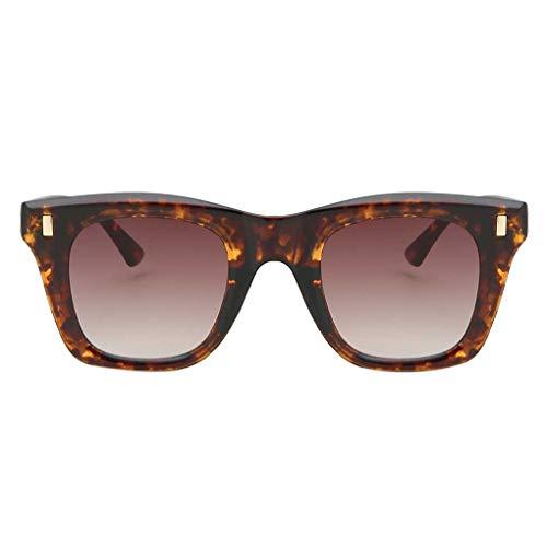 BoburyL Outdoor-Camping Wandern Frauen Rechteckig Rahmen Brille Brille Girl Classic Sonnenbrillen Optische Brillen