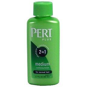 Pert Happy Medium 2 in 1 Shampoo Plus Conditioner, 1.7 Fl Oz by Pert (Happy Medium 2in 1 Shampoo)