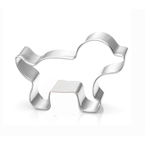 wjsyshop Puppy Mini Hund Cookie Cutter - Edelstahl (Keks Halloween Hund Der)