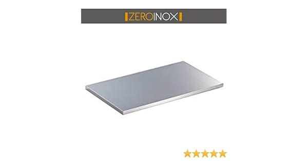 /Top pour table en acier professionnel cuisine 140x60x4h Plan de travail toutes les mesures/ /Profondeur 60/cm/