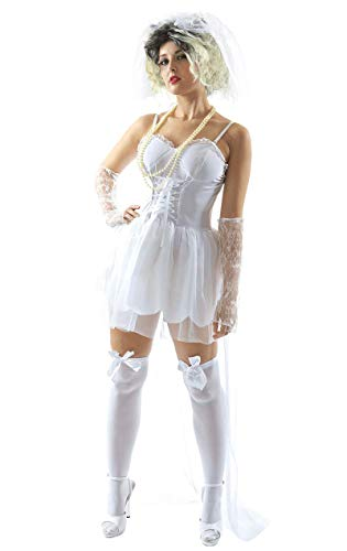 ORION COSTUMES Adult 80's Virgin Bride Costume