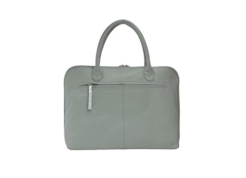 Pelle Mala Leather Collection BEAU Grab Bag - tracolla staccabile 796_89 Grey Grey