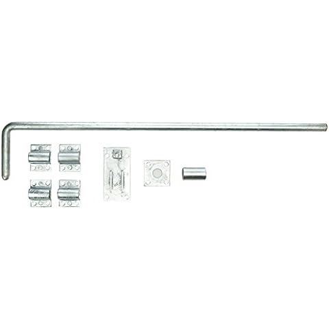PST, 1166001, 24 '600 mm, zincato, bulloni porte P22 garage