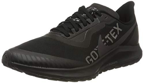 Nike Zoom Pegasus 36 Trail GTX, Scarpe da Corsa Uomo, Multicolore (Black/Thunder Grey/Total Orange 001), 43 EU