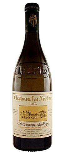 Châteauneuf-du-pape 2005 château la nerthe, vino rosso francese 75 cl