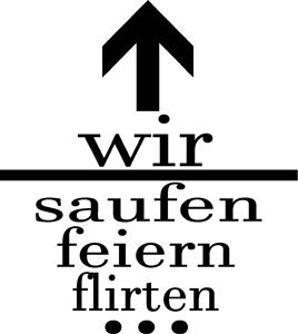 Mister Merchandise Herren Men T-Shirt JGA - Wir saufen