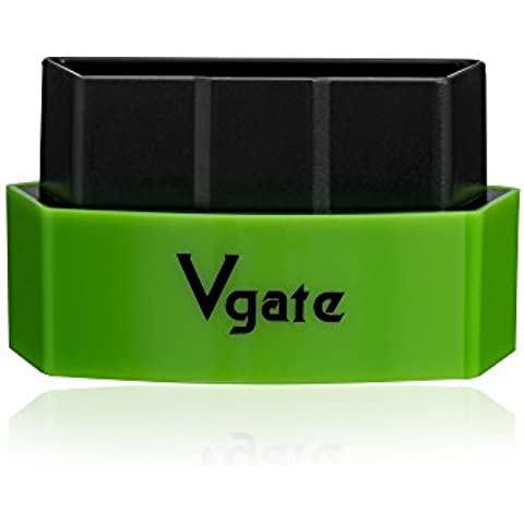 Vgate Icar3 bluetooth Elm327obd Obdii / obd2 bluetooth 327 per Pc Android Iphone Ipad auto interfaccia diagnostica (verde)
