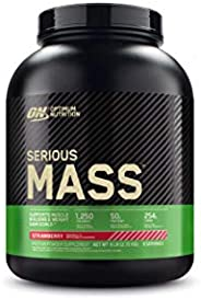 Optimum Nutrition Serious Mass, 6Lbs 4/Cs