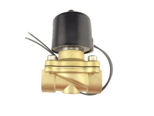 MISOL 1pcs of New DC 12V Electric Solenoid Valve G3/4