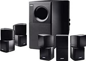 bose acoustimass 15 ii lautsprecher system mit subwoofer. Black Bedroom Furniture Sets. Home Design Ideas