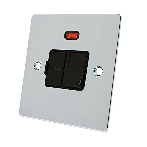 allianz-elektrische-fpcsfnbl-13-a-schwarz-einsatz-flach-switched-fused-spur-mit-kunststoff-wippschal