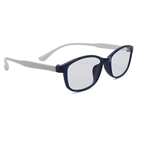 Blaulicht Schutzbrille Blaues Licht, das Gläser blockiert Anti-Myopie-Strahlung Anti-Müdigkeit Anti-Augenkrankheit Negative Sauerstoff Ionen Infrarot Outdoor Indoor Junge Klare Linse Männer Frauen ZHA