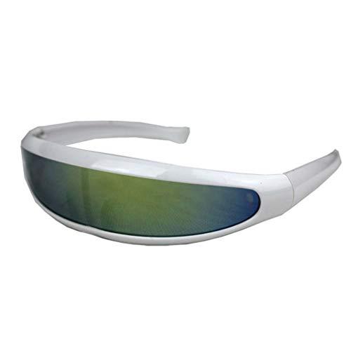 Männer Damen Platz Brillen Rosennie Mode Klassische Gläser Damen Herren Vintage gespiegelten Sonnenbrillen Outdoor Sports Unisex Brille UV400 100% UV-Schutz Runde Goggles Flieger Gläser (J)