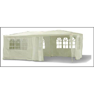 Pavillon de fêtes tonnelle chapiteau tente de jardin 3x6m