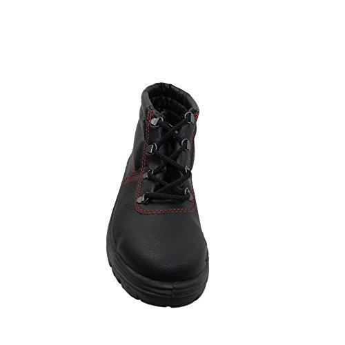 PSH berufsschuhe businessschuhe chaussures de sécurité s1 chaussures de trekking (noir) Noir - Noir