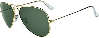 Gafas de sol polarizadas Ray-Ban Aviator Large Metal RB3025 C62 001/58