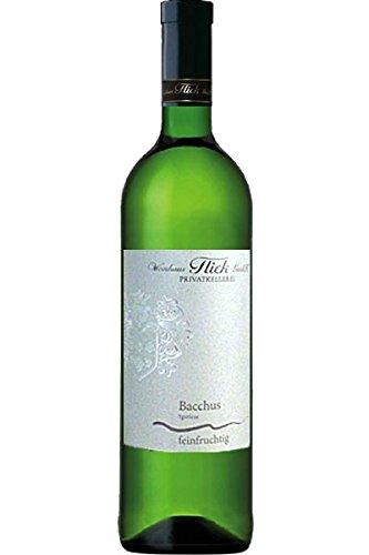 Flick Bacchus Spätlese 2016 Weißwein feinfruchtig 0,75 L