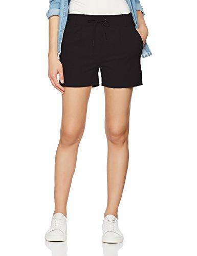 ONLY NOS Damen Onlpoptrash Easy Shorts Noos, Schwarz (Black), 36 (Herstellergröße: S)